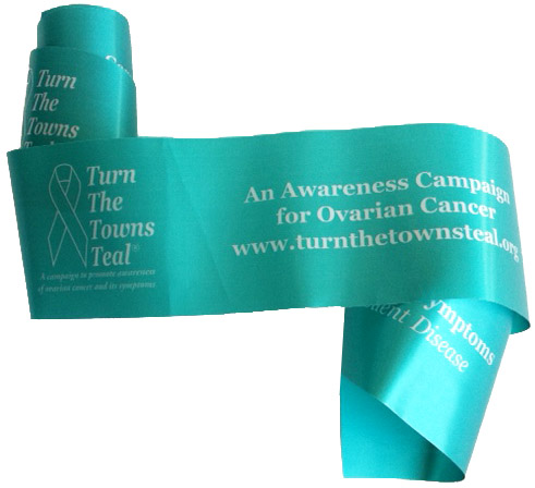 Turn the Towns Teal Ribbon
