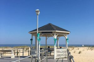 Sea Girt New Jersey Gazebo Beach Treal Ribbons